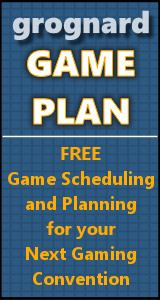 Grognard Game Plan - Convention Game Scheduling