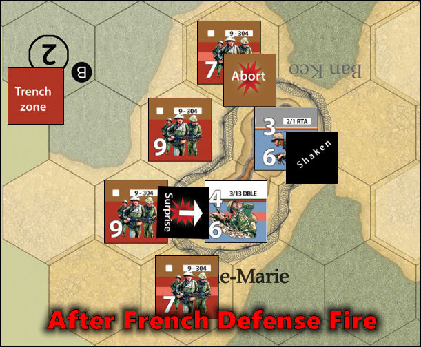 Dien Bien Phu: Combat Example - After Defensive Fire