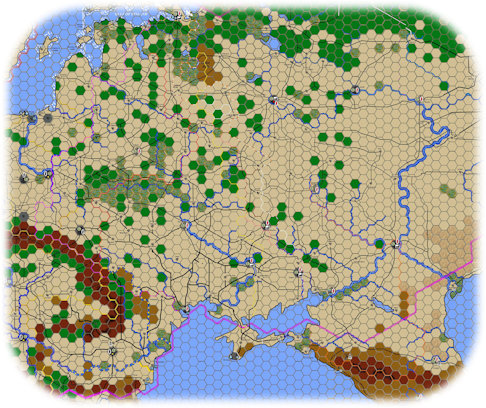 Thunder in the East Playtest Game Map