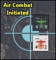 No Safe Harbor - Fighter aircraft positions