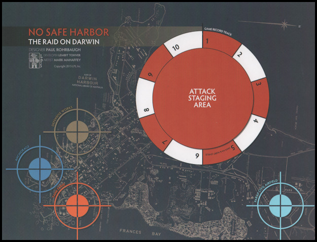 No Safe Harbor - Game Map