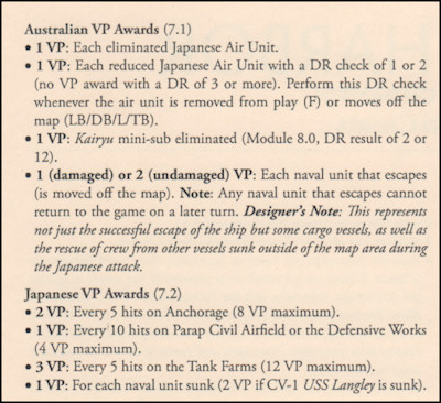 No Safe Harbor - Victory Points