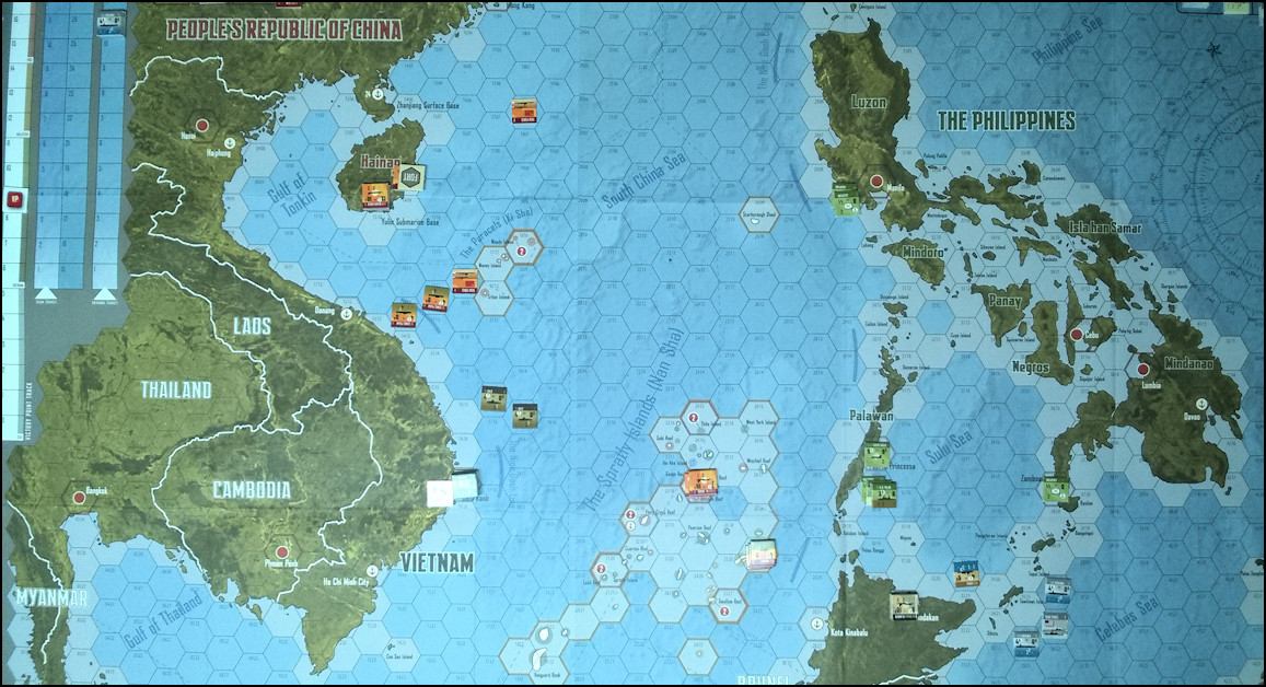 South China Sea - Board Game Replay