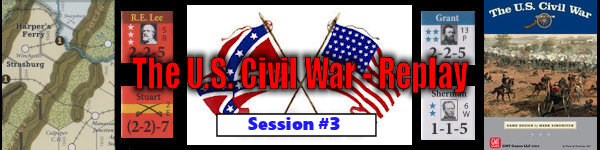 The U.S. Civil War - Board Game Replay - Session #3