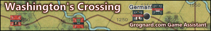 Washington's Crossing - Player Aid - title image
