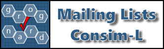 Game-related Mailing Lists and Consim-L