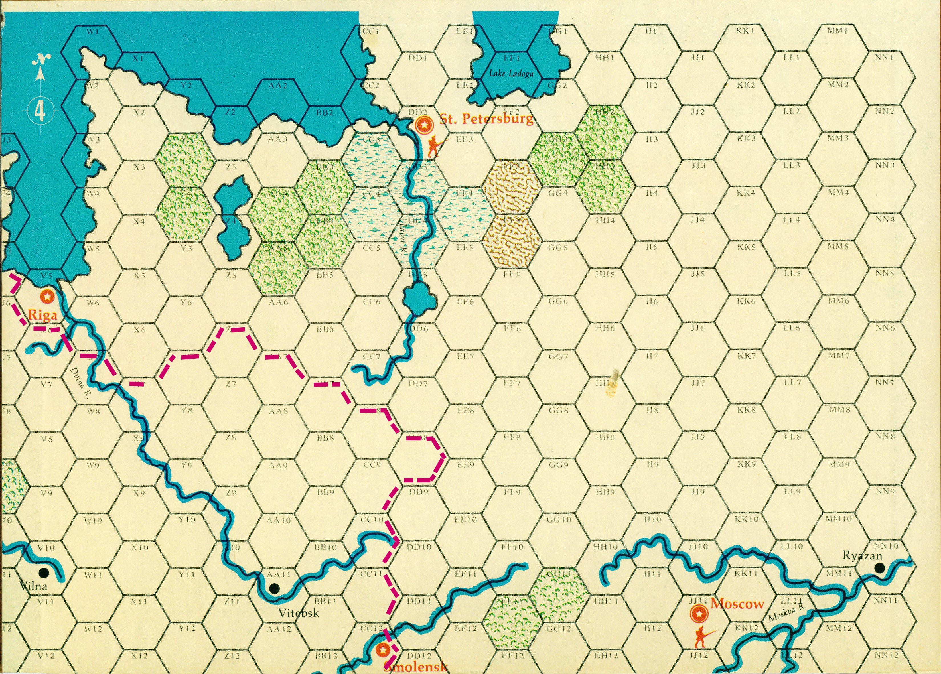Grognard com: Wargames by Title/Series/Publisher: W